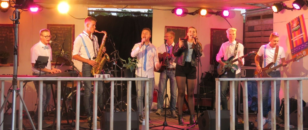 PopUp Coverband op NOPPOP 2019.